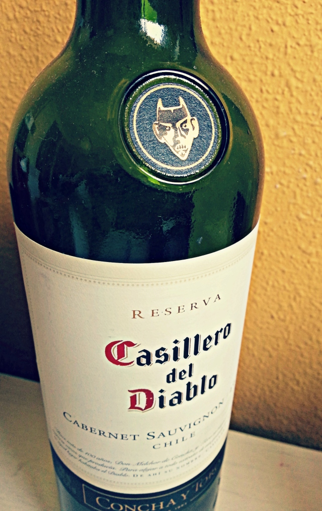 If it weren't for all this deep red libation, high on quality and low on price… sharing the cup makes playing the devil's advocate a bit easier, no lie. (Full disclosure: this is actually killer Chilean wine from some killer Chilean pals)